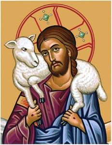 Jesus the Good Shepherd icon